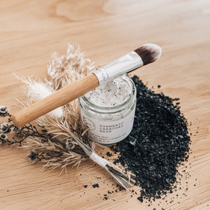 Turmeric Charcoal Mask (FREE BRUSH INCLUDED!)