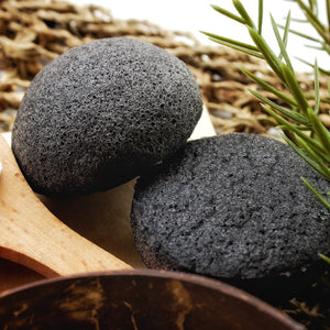 Natural Charcoal Konjac Sponge (SOLD OUT!)