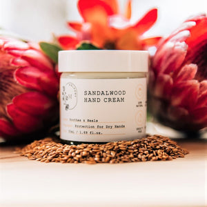 NEW! Sandalwood Hand Cream (Limited Edition)
