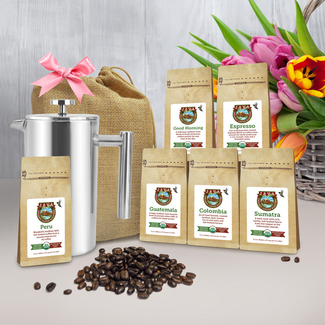 Organic Coffee from All Around the World