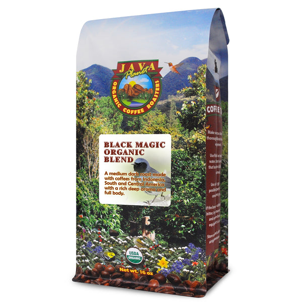 Black Magic Organic Coffee Blend