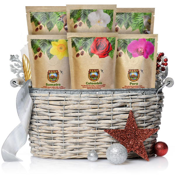 Gourmet Coffee Sampler Set