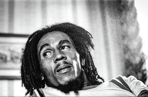 Bob Marley During Interview - Art Print