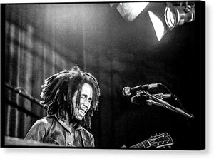 Bob Marley In Concert at The Manhattan Center- Canvas Print