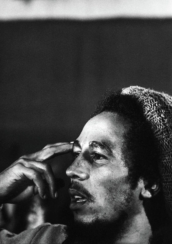 Bob Marley In Thought - Art Print