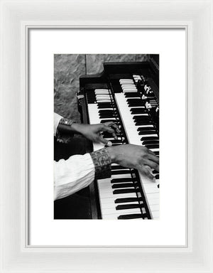 "Hands Of Earl "" Wya"" Lindo (Original Wailer) - Framed Print"