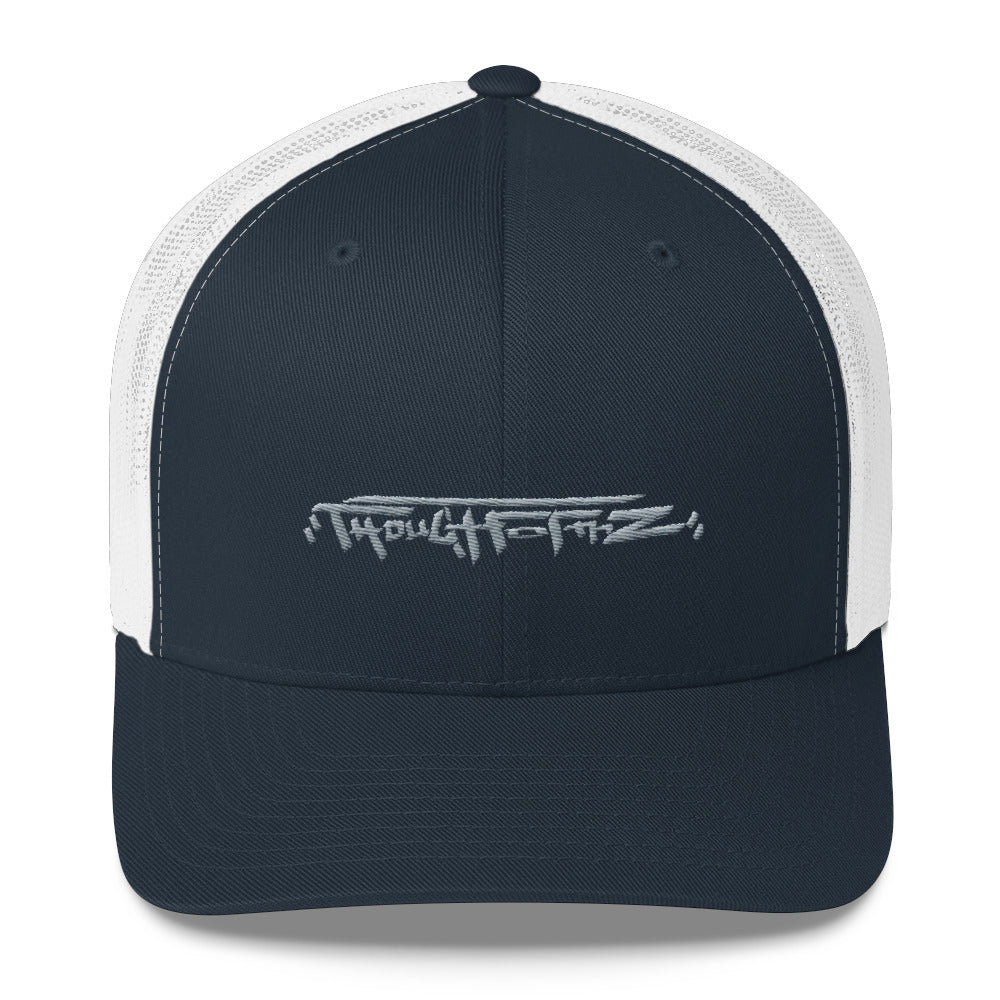 ThoughtFormZ Grey Stitch Trucker Cap