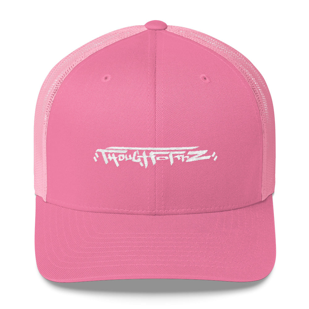 ThoughtFormZ White Stitch Trucker Cap