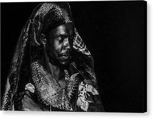 Peter Tosh Performance - Canvas Print