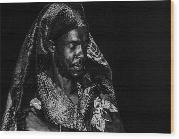 Peter Tosh Performance - Wood Print