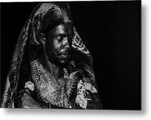 Peter Tosh Performance - Metal Print