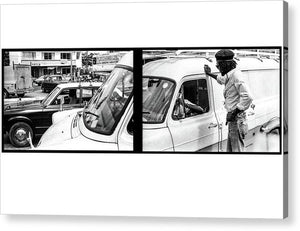 Peter Tosh Talks To Someone In Traffic - Acrylic Print