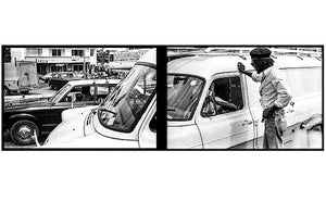 Peter Tosh Talks To Someone In Traffic - Art Print