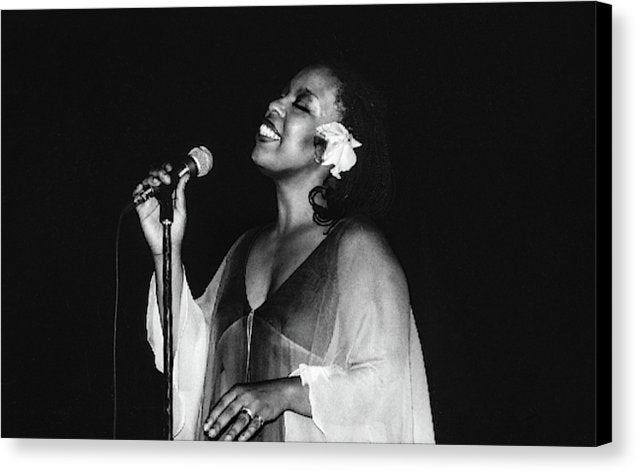 Roberta Flack Performs in Kingston- Canvas Print