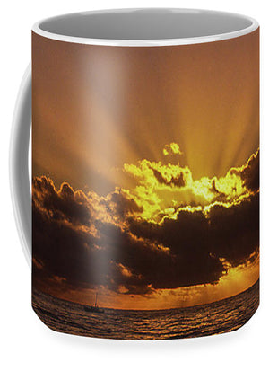Sunset In Jamaica - Mug