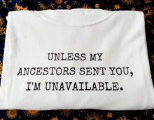 Load image into Gallery viewer, Ancestors Statement Tee Shirt
