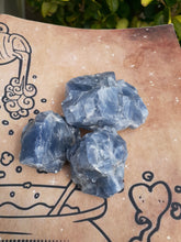 Load image into Gallery viewer, Blue Calcite Stone (small)