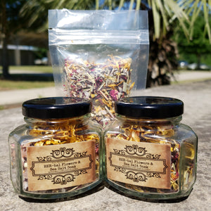 Grounded: Herbal Bath Tea 16 oz