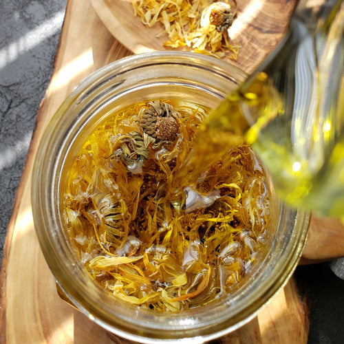 Calendula Infused Healing Oil (2 oz bottle)