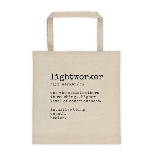 Definition of a Lightworker Tote