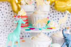 Mini Party Animal Hats | Set of 12