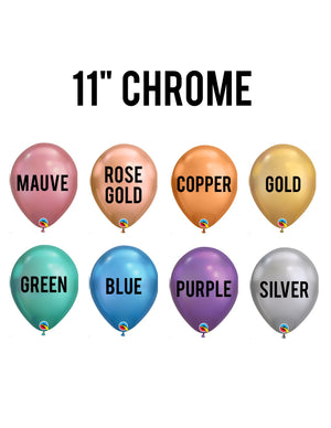 Chrome Latex Balloons