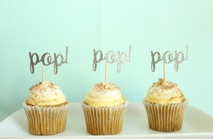 "Ready to ""Pop"" Cupcake Toppers 