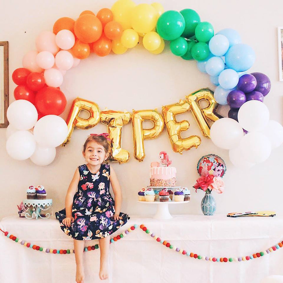 DIY Rainbow Balloon Garland Kit