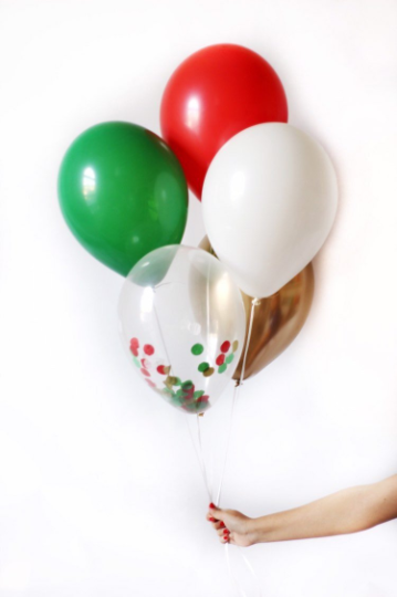 Christmas Balloon Bouquet