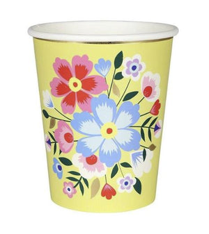 Floral Cups
