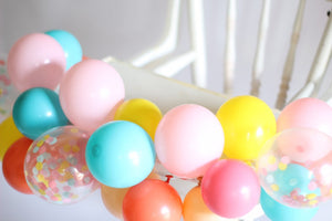 DIY High Chair Balloon Garland Kit | Choose Your Own Colors