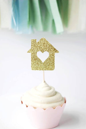 Housewarming Cupcake Toppers | Set of 12