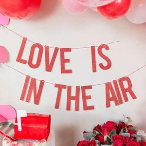 Love is in the Air Banner