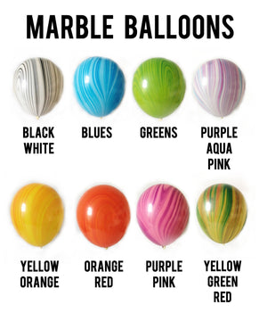 Marble Balloons