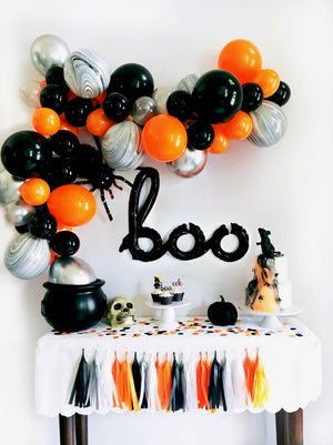 DIY Halloween Balloon Garland Kit