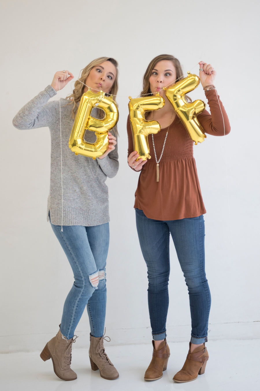BFF Letter Balloons