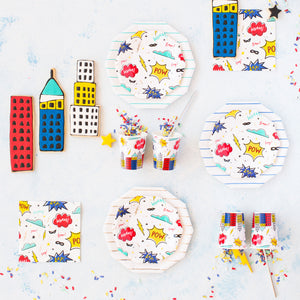 Superhero Small Plates