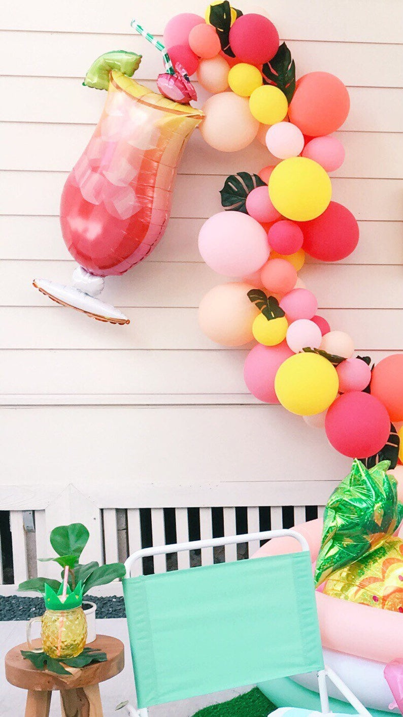 Tropical Drink Balloon