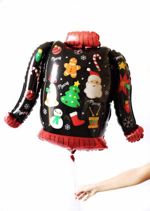 Ugly Sweater Christmas Balloon