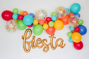 DIY Fiesta Balloon Garland Kit