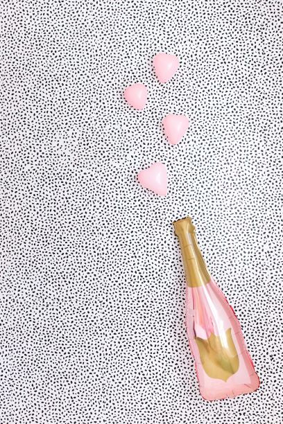 Rose Gold Champagne Bottle Balloon