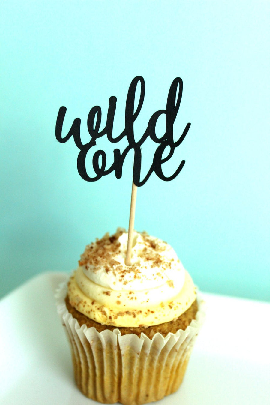 """Wild One"" Cupcake Toppers 