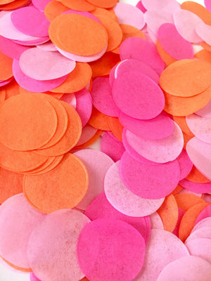 Tissue Confetti 1"