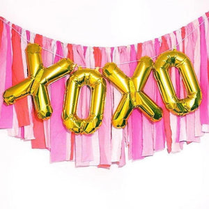 XOXO Balloons for Bridal Shower or Bachelorette