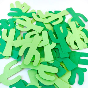 Fiesta Cactus Confetti | Set of 100