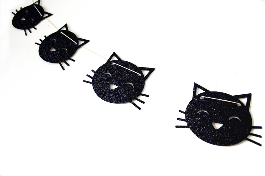 Kitty Cat Garland Banner