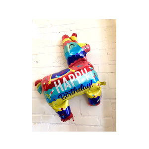 Happy Birthday Piñata Balloon