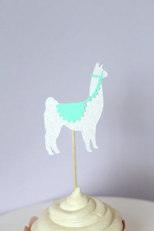 Llama Cupcake Toppers | Set of 12