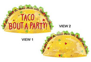 Taco Balloon for Fiesta Party Decor