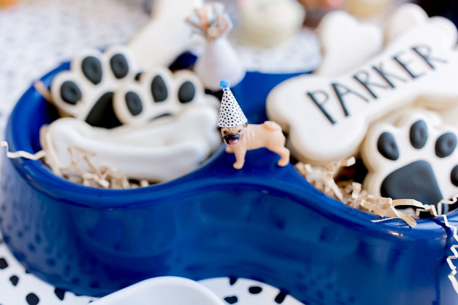 Mini Puppy Dog Party Hats | Set of 12